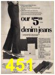 1973 Sears Fall Winter Catalog, Page 451