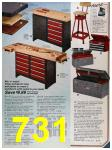1986 Sears Fall Winter Catalog, Page 731