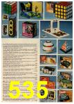 1982 Montgomery Ward Christmas Book, Page 535