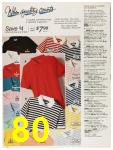 1987 Sears Spring Summer Catalog, Page 80