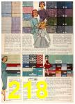 1958 Sears Spring Summer Catalog, Page 218