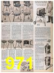 1957 Sears Spring Summer Catalog, Page 971