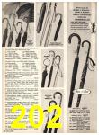 1969 Sears Fall Winter Catalog, Page 202