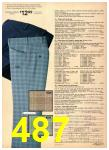 1977 Sears Spring Summer Catalog, Page 487