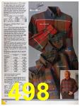 1986 Sears Fall Winter Catalog, Page 498