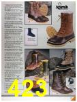 1986 Sears Fall Winter Catalog, Page 423