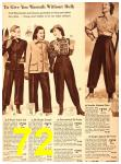 1940 Sears Fall Winter Catalog, Page 72