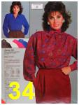 1986 Sears Fall Winter Catalog, Page 34