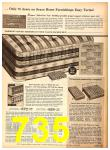 1958 Sears Fall Winter Catalog, Page 735