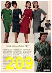 1965 Sears Fall Winter Catalog, Page 209