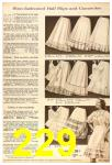 1958 Sears Fall Winter Catalog, Page 229