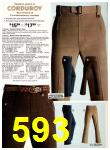 1978 Sears Fall Winter Catalog, Page 593