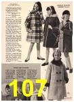 1965 Sears Fall Winter Catalog, Page 107