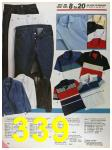 1986 Sears Spring Summer Catalog, Page 339