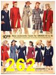 1942 Sears Spring Summer Catalog, Page 262