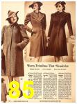 1940 Sears Fall Winter Catalog, Page 85