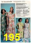 1981 Montgomery Ward Spring Summer Catalog, Page 195