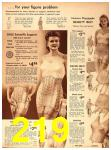 1942 Sears Spring Summer Catalog, Page 219