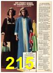 1976 Sears Fall Winter Catalog, Page 215