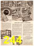 1955 Sears Christmas Book, Page 244