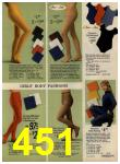 1972 Sears Fall Winter Catalog, Page 451