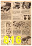 1963 Sears Fall Winter Catalog, Page 816