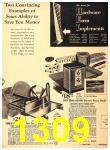 1940 Sears Fall Winter Catalog, Page 1309