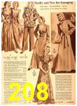 1940 Sears Fall Winter Catalog, Page 208