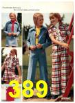 1974 Sears Spring Summer Catalog, Page 389