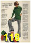 1972 Sears Fall Winter Catalog, Page 118