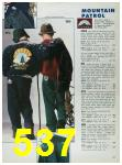 1988 Sears Fall Winter Catalog, Page 537