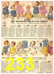 1942 Sears Spring Summer Catalog, Page 233