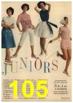 1961 Sears Spring Summer Catalog, Page 105