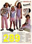 1983 Sears Spring Summer Catalog, Page 289