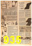1963 Sears Fall Winter Catalog, Page 935