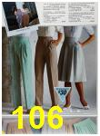 1985 Sears Spring Summer Catalog, Page 106