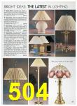 1989 Sears Home Annual Catalog, Page 504