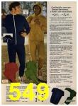1972 Sears Fall Winter Catalog, Page 549