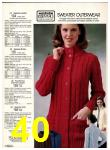 1982 Sears Fall Winter Catalog, Page 40