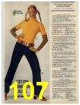 1972 Sears Fall Winter Catalog, Page 107