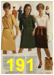 1968 Sears Fall Winter Catalog, Page 191
