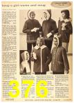 1962 Sears Fall Winter Catalog, Page 376