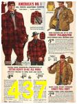 1940 Sears Fall Winter Catalog, Page 437
