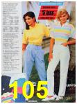 1986 Sears Spring Summer Catalog, Page 105