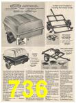 1982 Sears Fall Winter Catalog, Page 736