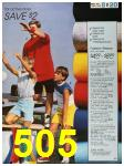 1988 Sears Spring Summer Catalog, Page 505