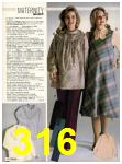 1982 Sears Fall Winter Catalog, Page 316