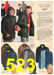 1962 Sears Fall Winter Catalog, Page 523