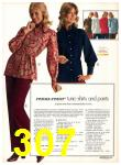 1971 Sears Fall Winter Catalog, Page 307