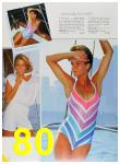 1985 Sears Spring Summer Catalog, Page 80